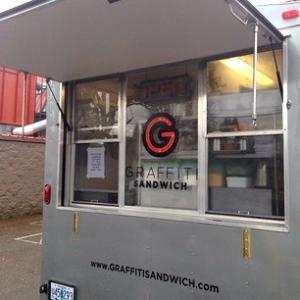 Graffiti food cart