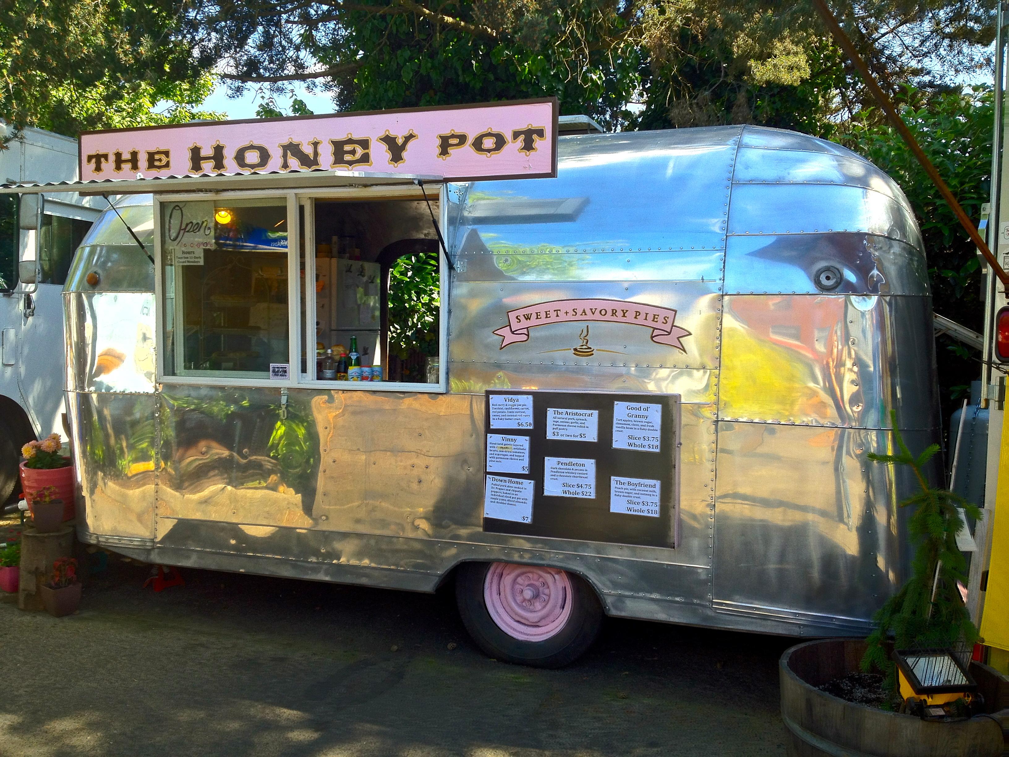 The honey pot food cart one year anniversary celebration pi day