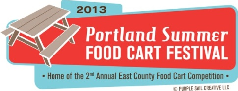 Summer Food Cart Festival Logo