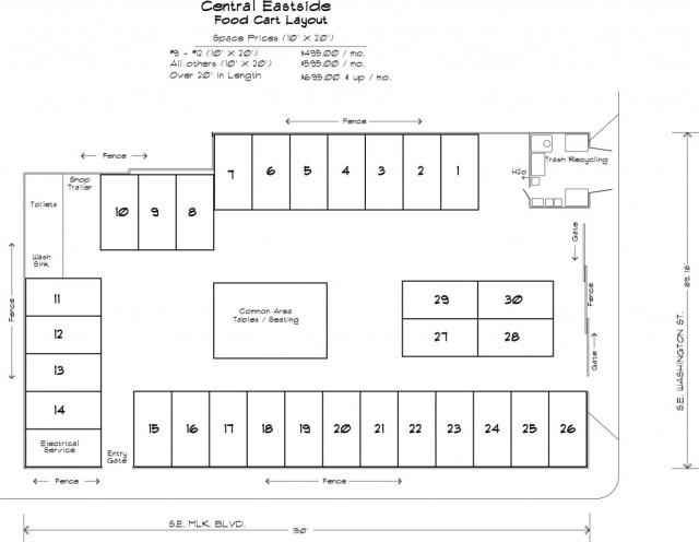Central eastside layout