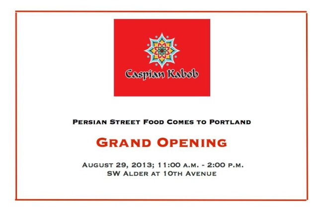 Caspian Grand Opening
