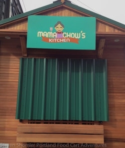 Mama Chows Kitchen Food Cart Front closed