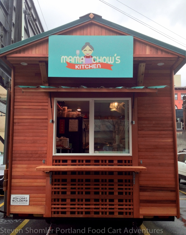 Mama Chows Kitchen Food Cart Front