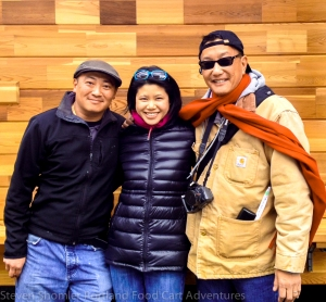 Mama Chows Kitchen Jeff Chow and Tami and Eric