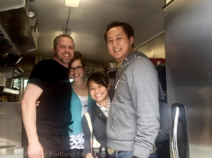 Jaon Arianne Phil Kim at Rua Food Cart