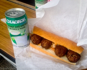 Pork Meatball 3 at Rua Food Cart