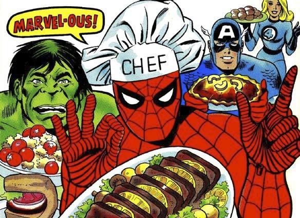 Food Cart Superhero Costume Party