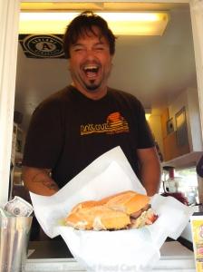 J Mo's Sandwich Shack Food Cart-1