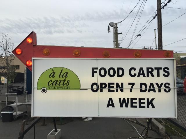 A la cart Food Cart Pod
