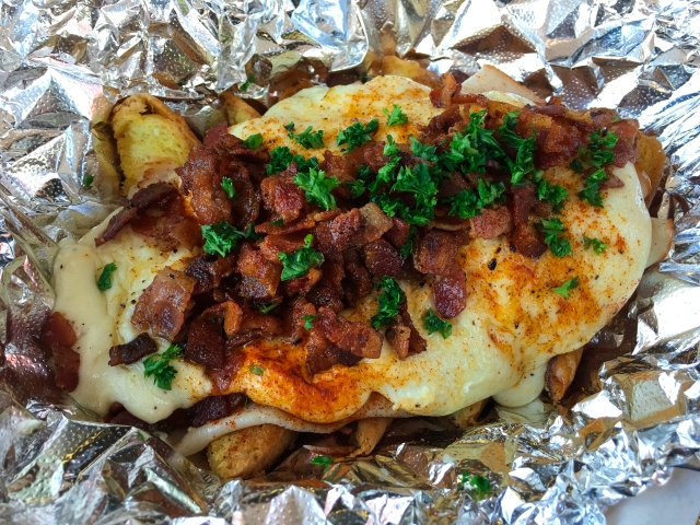 Louisville Hot Brown City Slickers Food Cart
