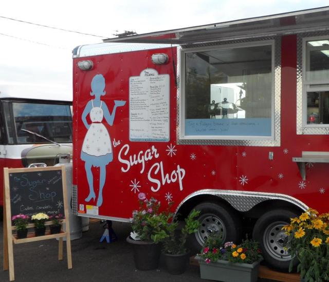 The Sugar Shop Food Cart