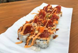 Wasabi Sushi Treasure Island Roll